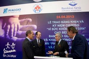Πρωτοβουλία της Piaggio για τα παιδιά