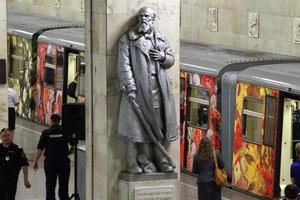 Κινούμενη γκαλερί το μετρό της Μόσχας