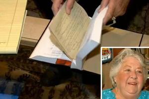 Οι παιδικές αναμνήσεις κρύβονταν... σε μια μεταχειρισμένη Βίβλο