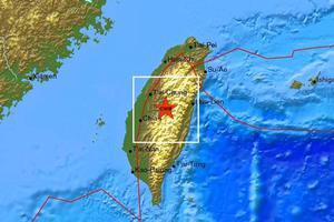 Σεισμός 6,6 Ρίχτερ στην Ταιβάν
