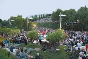 Μίνως Μάτσας και Γλυκερία στον Κήπο του Μεγάρου Μουσικής