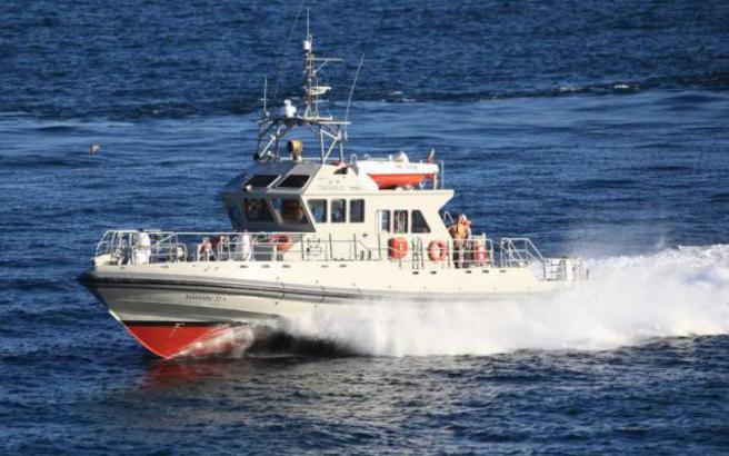 Η τουρκική ακτοφυλακή «ζόρισε» έλληνες ψαράδες νότια της Ρόδου