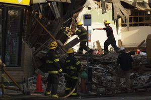 Ένας νεκρός στο κτίριο που κατέρρευσε στη Φιλαδέλφεια