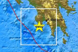 Σεισμός 4,7 Ρίχτερ στη Μεθώνη