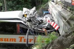 Δανοί μαθητές τραυματίστηκαν σε ατύχημα με λεωφορείο
