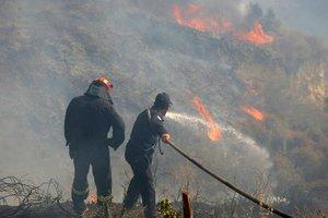 Σε εξέλιξη πυρκαγιά στην περιοχή Λαμπίρι Αχαΐας