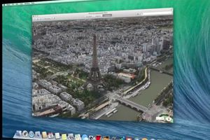 Οι χάρτες του OS X Mavericks