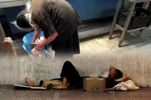 Έκτακτα μέτρα για την προστασία των άστεγων στη Θεσσαλονίκη