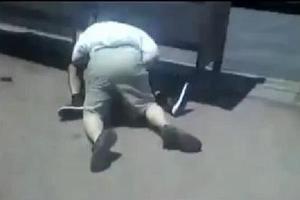 Οδηγός λεωφορείου πλάκωσε στο ξύλο επιβάτη