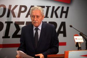 Διαψεύδει ο Κουβέλης τα περί Προεδρίας της Δημοκρατίας