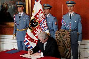 Ο Γίρι Ρούσνοκ νέος πρωθυπουργός της Τσεχίας