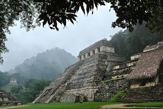 Αποτέλεσμα εικόνας για πυραμίδες του Παλένκε