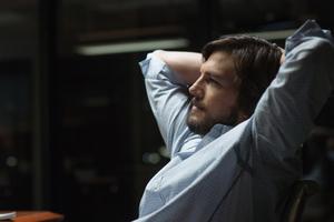 Ο Ashton Kutcher στο ρόλο του Steve Jobs