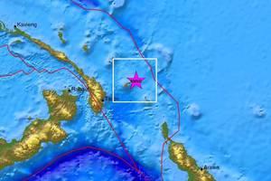 Δυο ισχυροί σεισμοί στην Παπούα Νέα Γουινέα