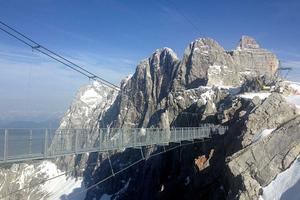 Η κρεμαστή γέφυρα των Άλπεων