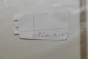 Αποτυπώματα ενός εκ των δύο συλληφθέντων σε προκήρυξη