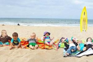 Στην παραλία με το μωρό σας