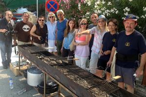 Μάθημα μαγειρικής από το Mount Athos Area Kouzina