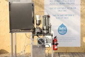 Μηχανή μετατρέπει τον ιδρώτα σε νερό