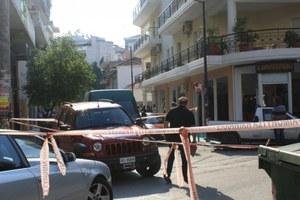 Ισχυρή έκρηξη στο κέντρο της Λάρισας