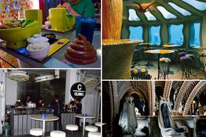 Τα πιο περίεργα εστιατόρια και μπαρ στον κόσμο