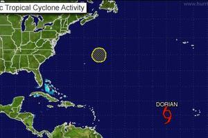 Ενισχύεται η τροπική καταιγίδα Ντόριαν