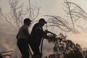 Υπό μερικό έλεγχο η πυρκαγιά στο Πεντάλοφο Μεσολογγίου