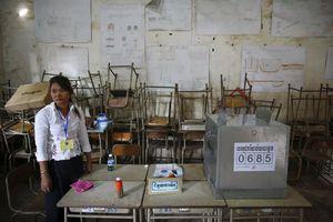 Απορρίπτει το αποτέλεσμα των εκλογών η αντιπολίτευση στην Καμπότζη