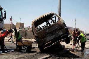 Τουλάχιστον 15 νεκροί αξιωματικοί του ιρακινού στρατού