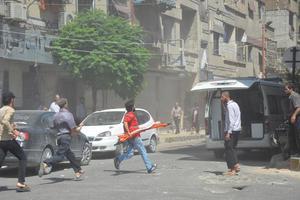 Τουλάχιστον 30 νεκροί από έκρηξη βόμβας σε επαρχία της Δαμασκού