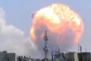 Τουλάχιστον 22 νεκροί από έκρηξη αποθήκης πυρομαχικών στη Συρία