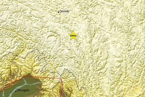 Σεισμός 5,7 Ρίχτερ στο Θιβέτ