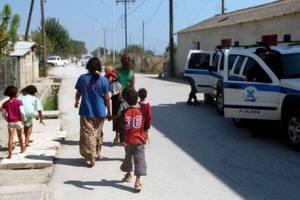Αστυνομική επιχείρηση σε καταυλισμούς Ρομά