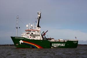 Απαγόρευση από τη Μόσχα σε παγοθραυστικό της Greenpeace