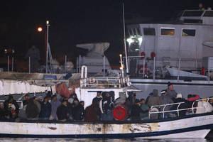 Σύροι μετανάστες διασώθηκαν από την ιταλική ακτοφυλακή
