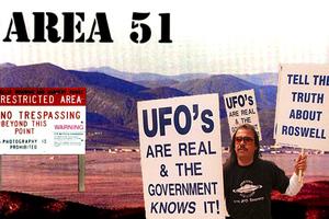 Οι απεικονίσεις της Area 51 στην οθόνη