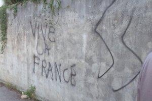 Σύμβολα της ακροδεξιάς σε τέμενος στη Γαλλία