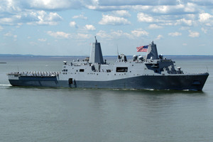 Σε επιχειρησιακή ετοιμότητα αμερικανικά πολεμικά σκάφη