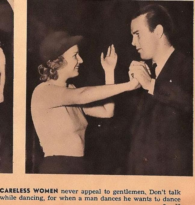 ραντεβού συμβουλές για κυρίες 1938