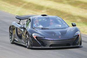 Η McLaren δεν αποκαλύπτει επίσημα το χρόνο της P1
