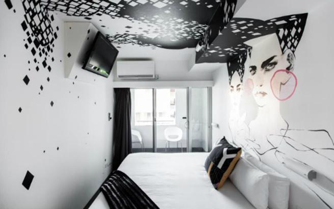 Ξενοδοχείο... πίνακας ζωγραφικής!