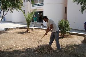 Επισκευάζουν όλα τα σχολεία της Ερέτριας