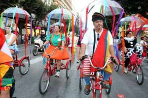 Καρναβαλική παρέλαση στη Θεσσαλονίκη