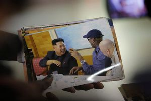 Ξανά στη Βόρεια Κορέα ο Ντένις Ρόντμαν