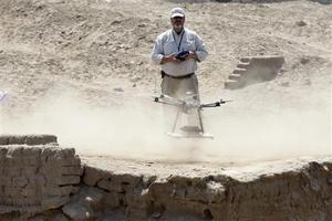 Τηλεκατευθυνόμενα αεροσκάφη για την προστασία των αρχαιοτήτων