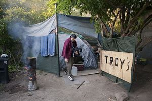 Η μεγαλύτερη κατασκήνωση αστέγων στις ΗΠΑ