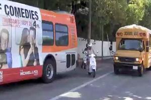 Γλίτωσε τη σύγκρουση με λεωφορείο η Gwyneth Paltrow
