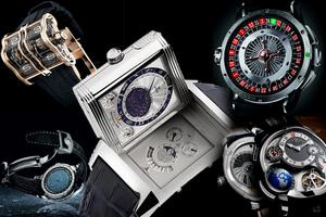Τα πλέον περίπλοκα ρολόγια του κόσμου