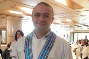 Ο chef Roscini Luca