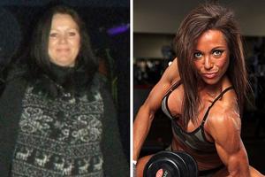 Έγινε bodybuilder στα 40 της